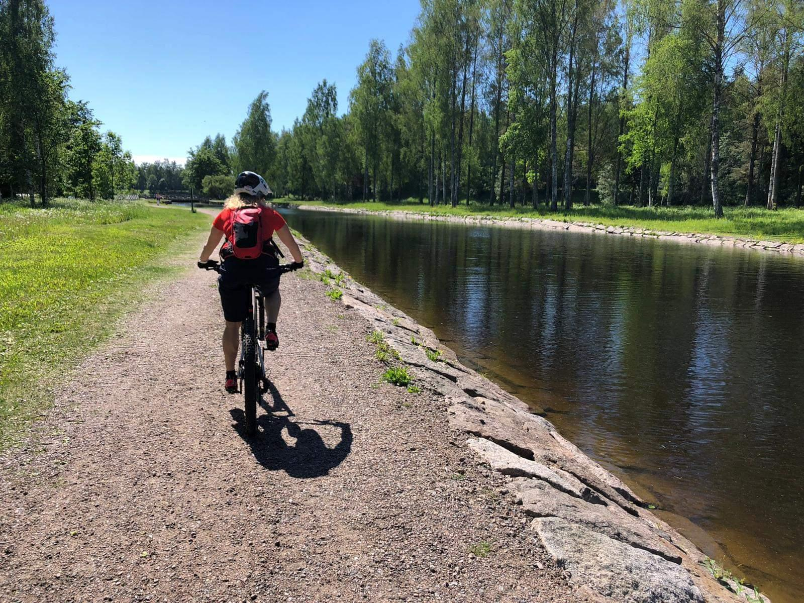 Polkupyöräilyretkiä